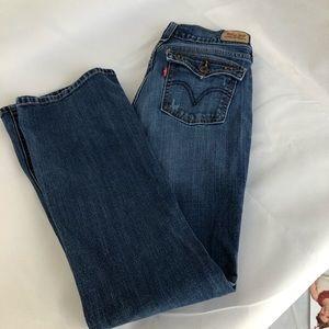 Levi's Blue Boot Cut 515 Jeans